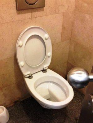 A WC.