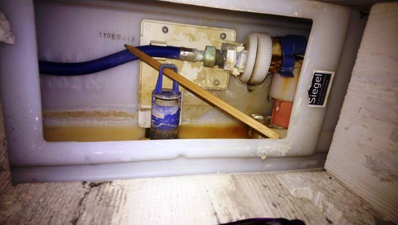 Beépített WC. tartály házi javítása :)