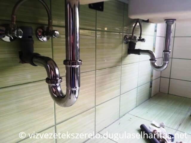 Fürdőszobai vízvezeték szerelés