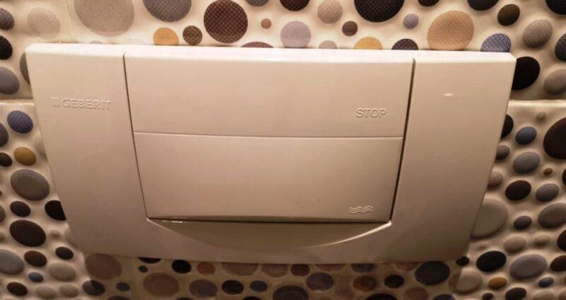 Falba épített WC. tartélyok javítása