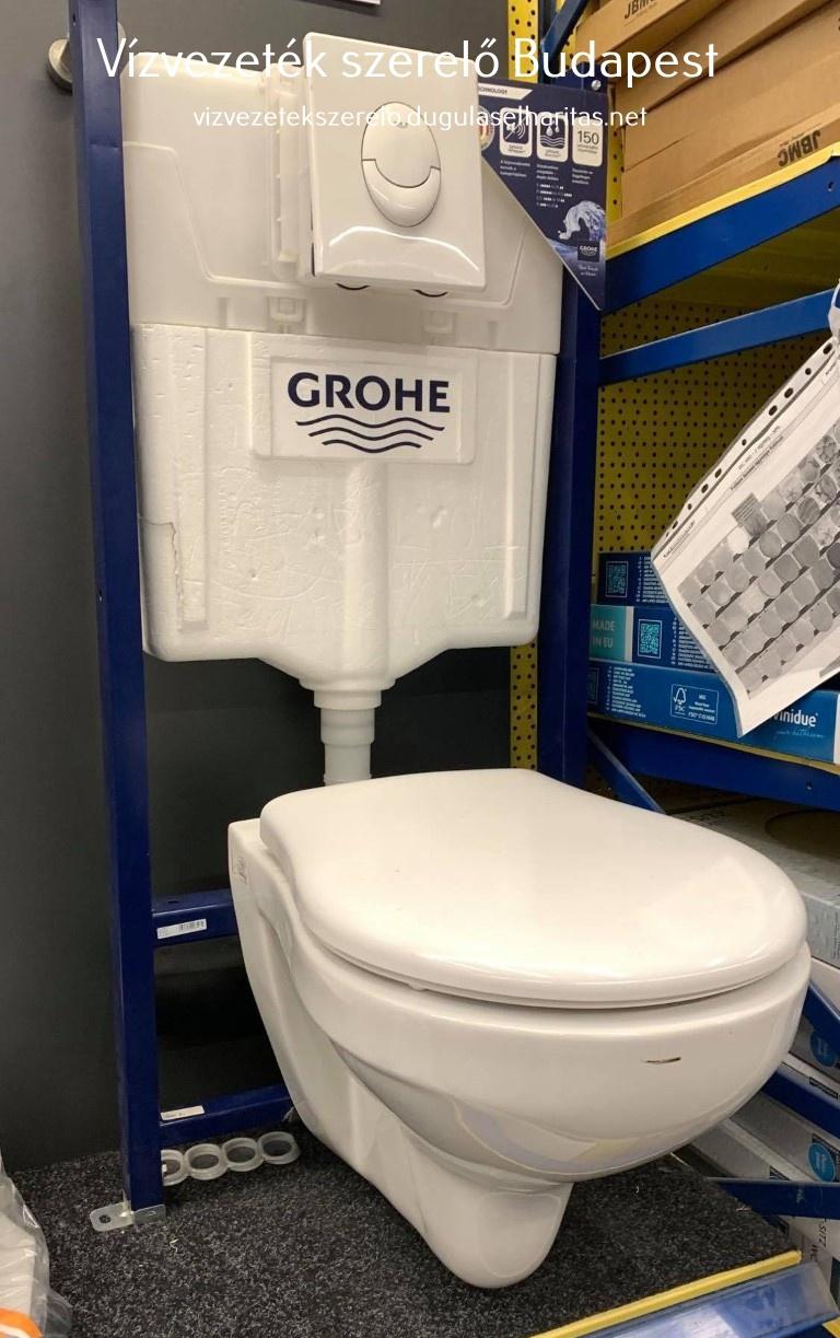 GROHE beépített WC. tartály
