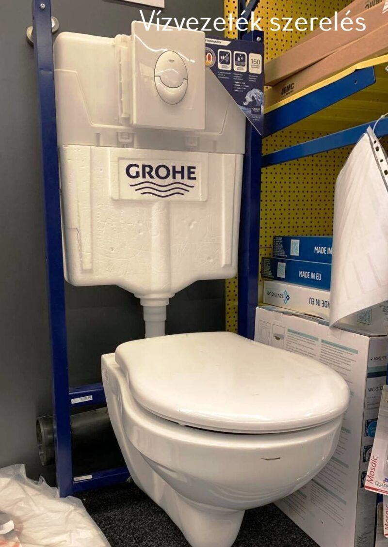 Grohe WC. tartály - falba épített típus