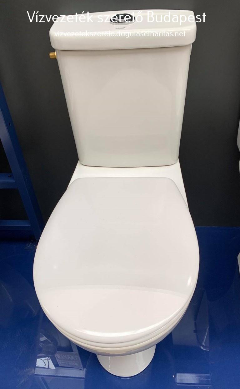 Monoblokkos WC. tartály szerelése