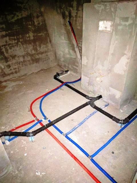 Új hálózat kiépítés - lefolyó és ivóvíz vezeték