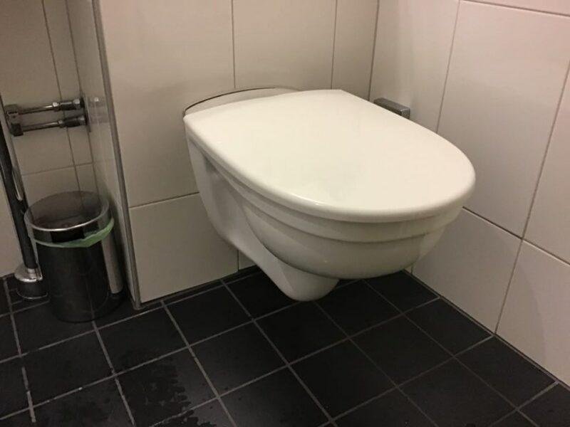 WC. csésze - falra szerelt típus