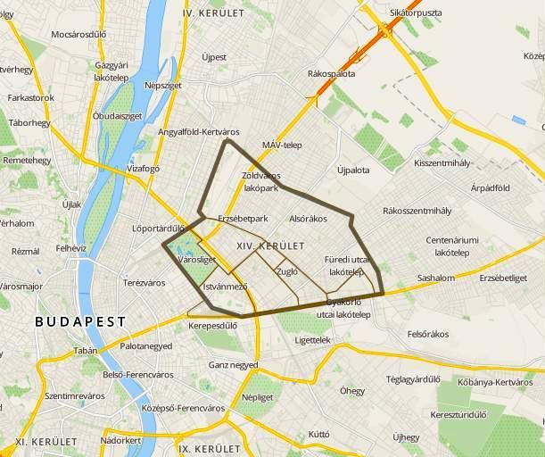 budapest 14 kerület térkép Vízvezeték szerelő XIV. kerület • Vízvezeték szerelő budapest 14 kerület térkép