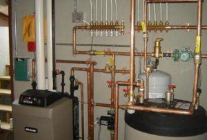Vízvezeték és fűtési rendszer