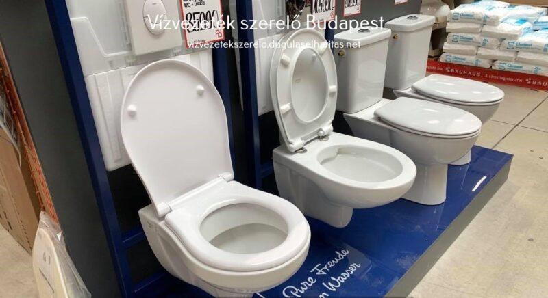 Modern WC. csészék