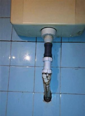 WC.tartály javítás